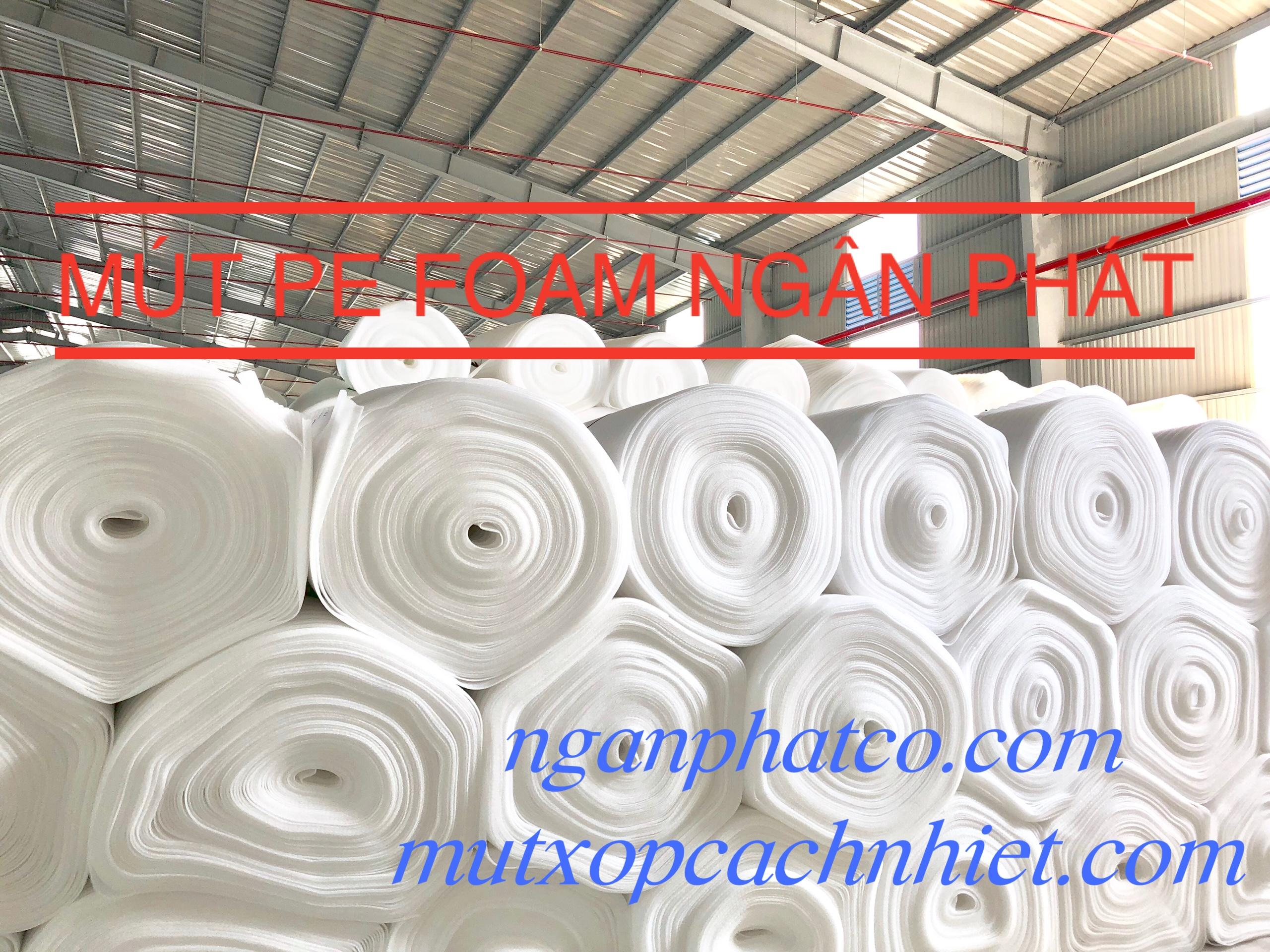 Màng Pe Foam 2mm x 1.05m x 150m