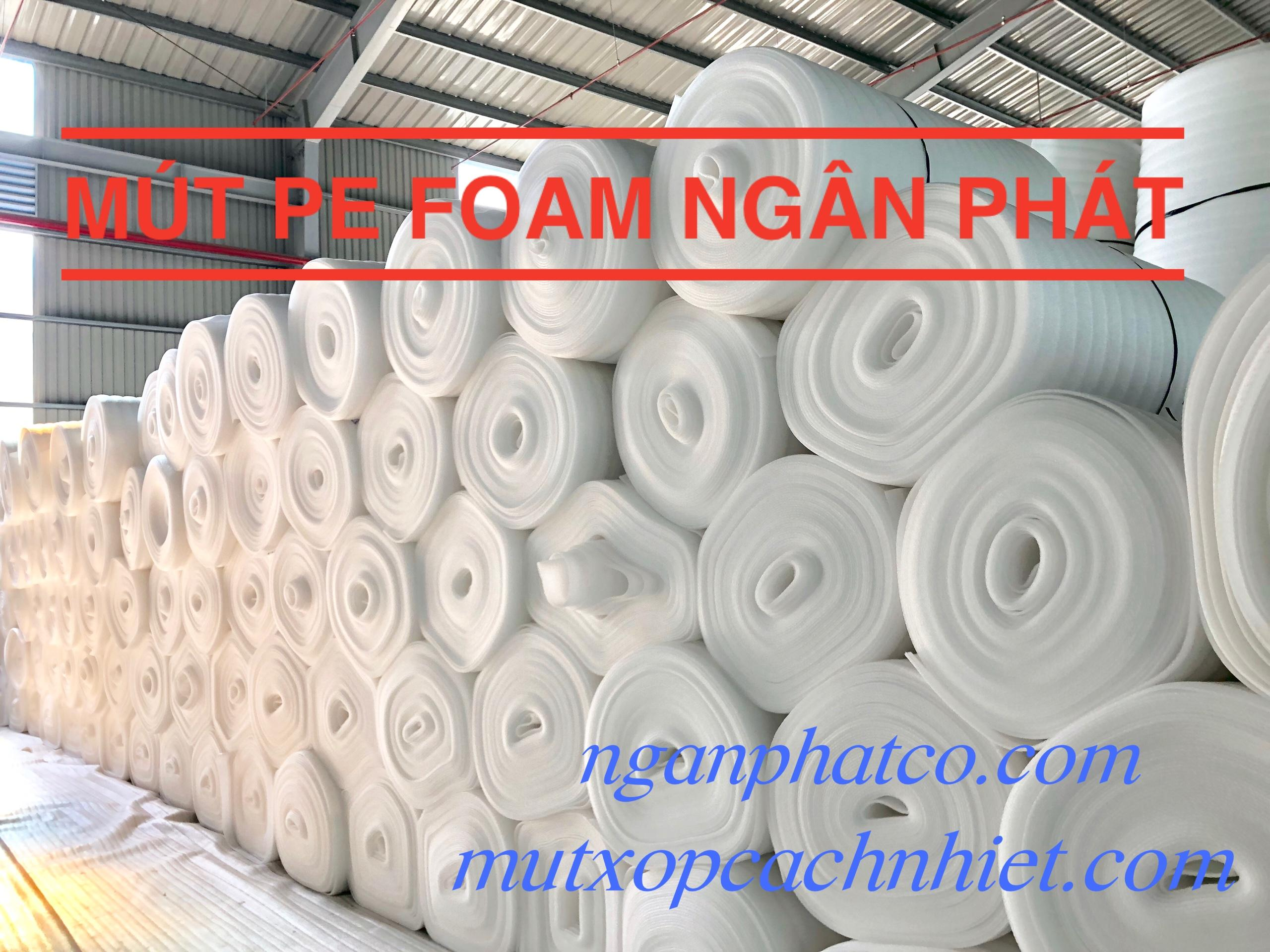Màng Pe Foam 4mm x 1.05m x 100m