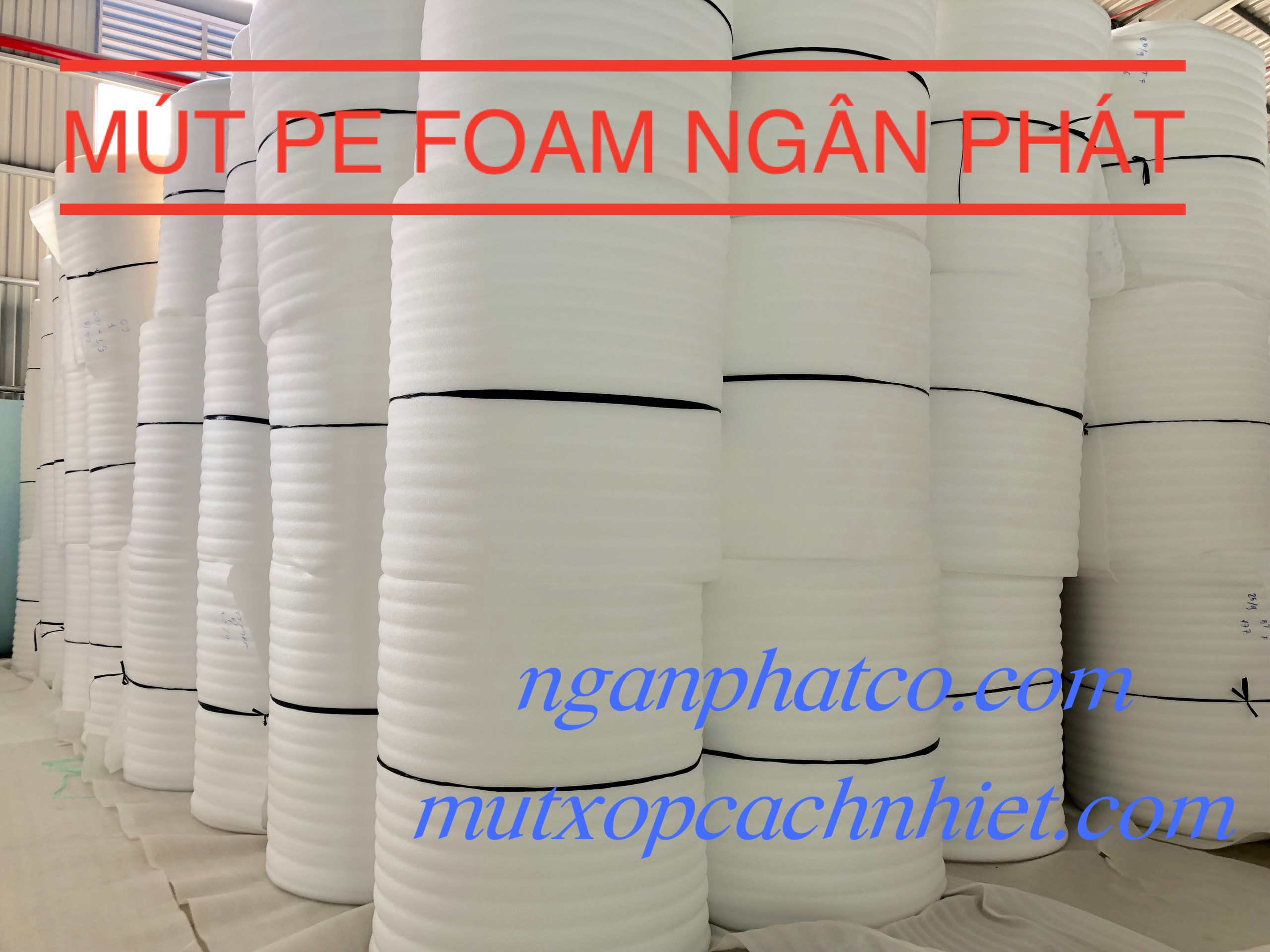 Màng Pe Foam 5mm x 1.05 x 100m